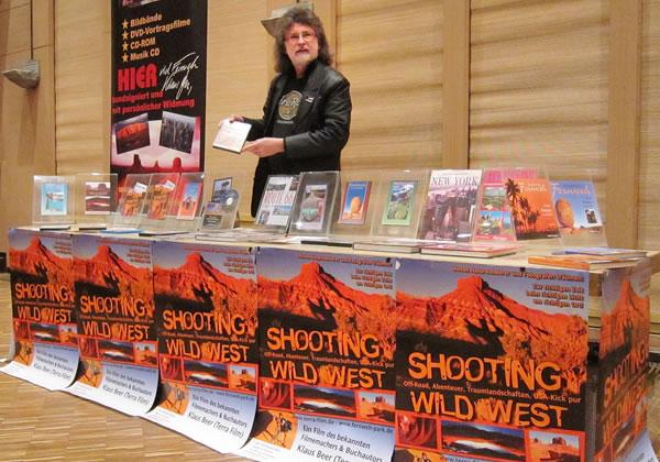 Filmvortrag SHOOTING WILD WEST in Wunsiedel